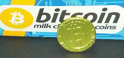 28 Bitcoin Chocolate Coins Crypto Coder Techie Computer Geek Gift Party Favor