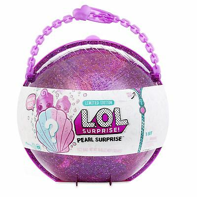 LOL Surprise Pearl Surprise Purple Doll & Little Sister Gift Set