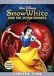Snow White and the Seven Dwarfs (DVD), dvd movie only, no case, FREE SHIPPING!!!