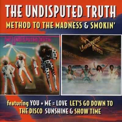 The Undisputed Truth - Method To The Madness/Smokin (Deluxe 2CD Ed.) CD (2) NEW
