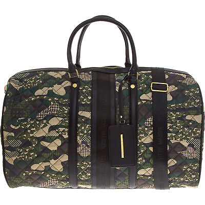 Quilted Weekender Holdall Travel Duffle