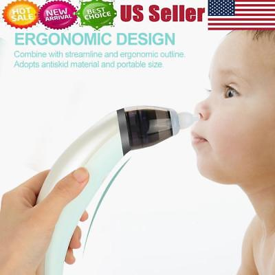Nasal Aspirator Nose Snot Sucker Mucus Booger Suction Safe Baby Nostril Cleaner