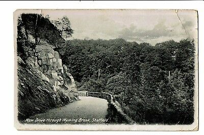 CPA - Carte postale - Royaume Uni - Sheffield -New drive throught Wyming Brook