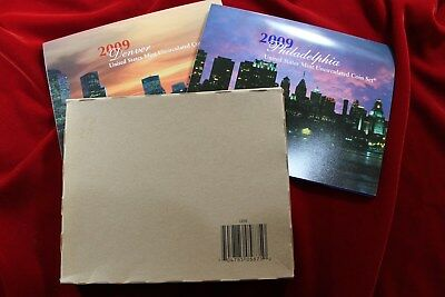 2009 United States Mint Uncirculated Coin Set , 36 Coin Set, P& D Mint Coins