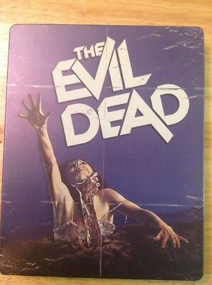 The Evil Dead (Blu-ray,2014,SteelBook)Authentic US RELEASE