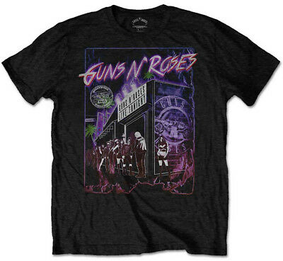 Guns N' Roses 'Sunset Boulevard' T-Shirt - NEW & OFFICIAL!