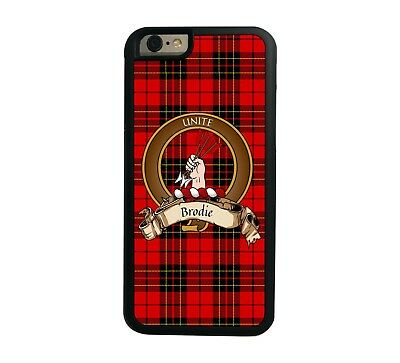 Brodie Scottish Clan Tartan Apple iPhone 6  iPhone 6 Plus case