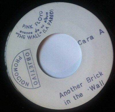 """PINK FLOYD another brick in the wall (la pared) RARE 45 SPAIN VINYL 7"""" PROMO 79"""