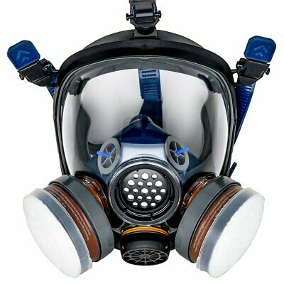 PD-100 Full Face Respirator/ N95 Rated Filter Set