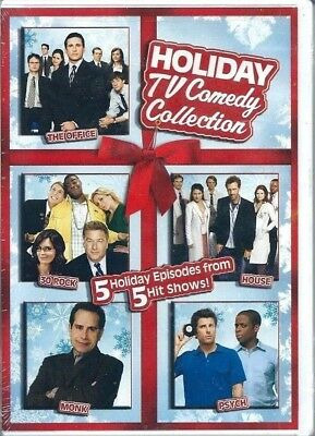 Psych Christmas Episodes.Holiday Tv Comedy Collection The Office 30 Rock House