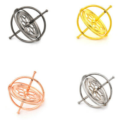 Metal Gyroscope Spinners Gyro Sciences Educationals Learning Balances Toys TSUS