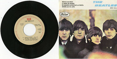 """THE BEATLES"" Rock and Roll music / Mr. Moonlight + 2 (EP 45 tours Mexico) MINT"
