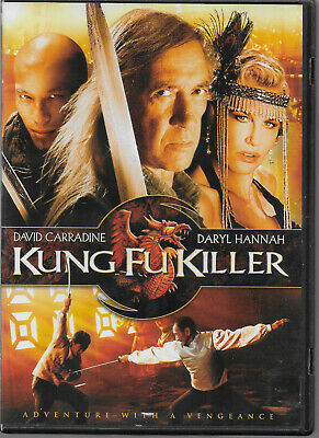 Kung Fu Killer DVD 2009 NTSC REGION 1 David Carradine Daryl Hannah