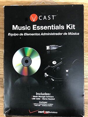 Vcast Music Essentials Kit For Motorola V9m Phone Music