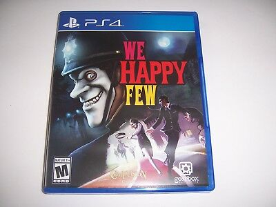 Original Box Case Replacement Sony PlayStation 4 PS4 We Happy Few