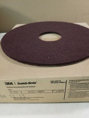 "3M Scotch-Brite Surface Preparation Pad SPP13, 13"" (Case of 10)"