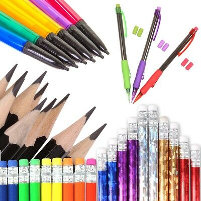 HB LEAD PENCIL SETS School Office Stationery Novelty Sketching Writing Drawing