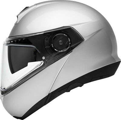 Schuberth C4 Pro Silver Helmet - Many sizes! - Fast& Free Shipping