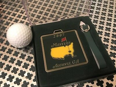 2007 The Masters Tournament - Metal Golf Bag Tag from Augusta National
