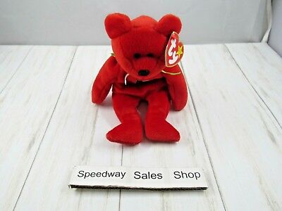 TY Beanie Baby - 1999 Osito Mexican Bear 9in - NEW WITH TAGS>FREE SHIPPING!