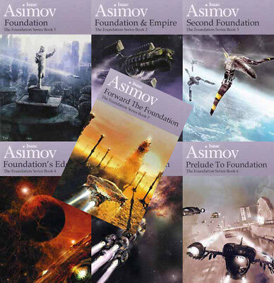 The FOUNDATION Series By Isaac Asimov (7 MP3 Audiobook Collection)