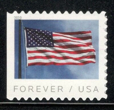 New 2019 US (BCA) Booklet Single Flag Stamp Mint/nh