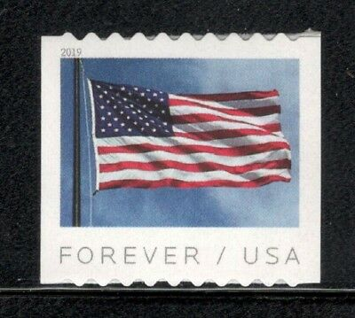 New 2019 US (APU) Coil Single Flag Stamp Mint/nh Free Shipping