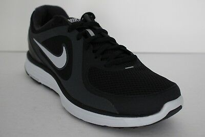 e879b5a972f85 Nike Lunarswift+ Mens Sz 8 Running Cross Training Shoes Black Gray 386365  001