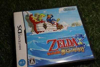 Used The Legend of Zelda Phantom Hourglass nintendo ds  NDS From Japan