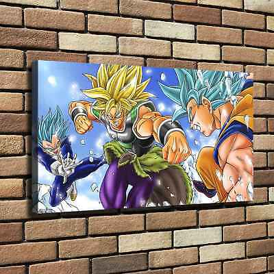 """12""""x22"""" Dragon Ball HD Canvas Print Painting Home Decor room Wall art Picture"""