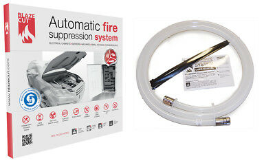 BlazeCut TV200FA Automatic Fire Suppression System - 2 Meter