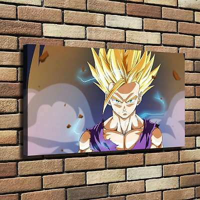 "12""x22"" Dragon Ball Goku HD Canvas Print Painting Home Decor room Wall Picture"