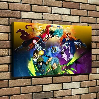 Dragon Ball HD Canvas prints Painting Home Decor Picture Room Wall art 108950