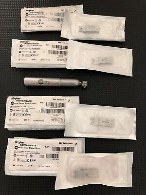 Stryker 5400-34 Core Sagittal Saw with 11 x Caspar Blades