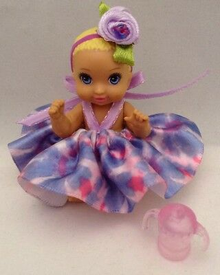 Barbie Skipper Babysitters Inc Redressed Baby With Skirt & Headband