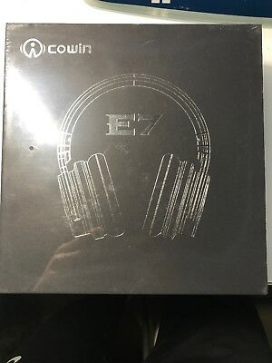COWIN E7 Active Noise Cancelling Headphones Bluetooth Headphones with Mic