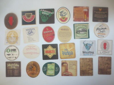 24 different Matilda Bay Brewery /Sail & Anchor Brewery Issued  COASTERS