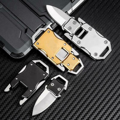 Tactical Keychain Keyring Mini Folding Pocket Knife Outdoor Survival New Hot