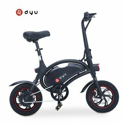 2019 DYU D2 12 Inch 250W Electric bike Bicycle foldable With APP Control BE