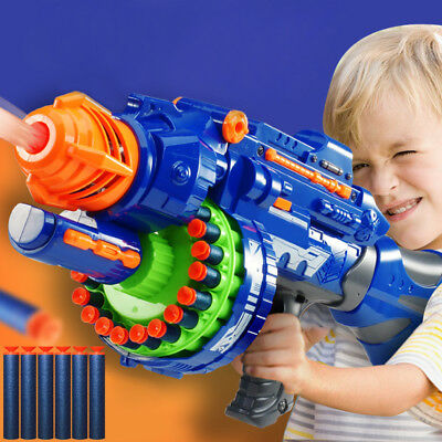100pc Kids Refill Toy Gun Bullet Darts Round Head Blasters For NERF N-Strike New