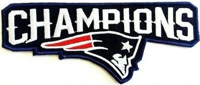 Patriots New England AFC 2019 Champions Patch Super Bowl LIII 53 Jersey Iron On