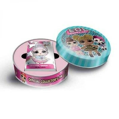 LOL Surprise ~ Panini Trading Card Collection Collectors Tin With 40 Cards