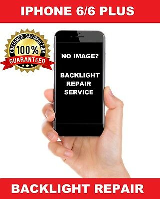 Repair Service For Iphone 6/6 plus No Backlight/ No Display