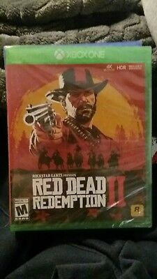Red Dead Redemption 2 Xbox One BRAND NEW & SEALED Video games