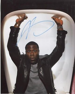 KEVIN HART SIGNED AUTOGRAPH 8x10 PHOTO AUTO AUTHENTIC COMEDY COMEDIAN