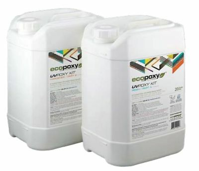 ECOPOXY UVPOXY 40 L KIT (Approximate US 10 gallons)