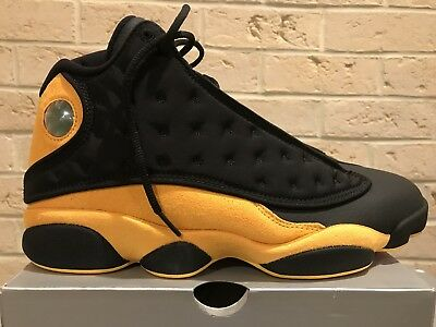 huge discount 47c68 ee829 NIKE AIR JORDAN XIII 13 Retro Class 2002 Melo Black Yellow 414571-035 Men's  11
