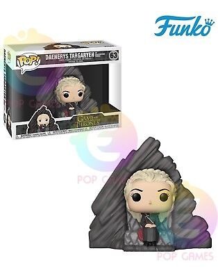 DAENERYS TARGARYEN ON DRAGONSTONE THRONE #63 Funko POP Game of THRONES GoT