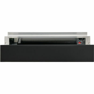 Whirlpool W1114 W Collection Built-In Black Warming Drawer - 2 Year Warranty