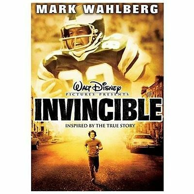 Invincible - Disney (DVD, 2006, Widescreen) Mark Wahlberg / NFL Football Film